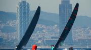 Quantum Racing, Barcelona background