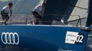 Audi Azzurra Sailing Team at ww mark