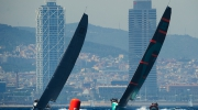 Quantum Racing, Barcelona background