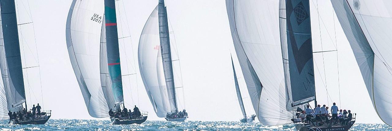 Eight teams, five nations at the Gaastra 52 World Championships