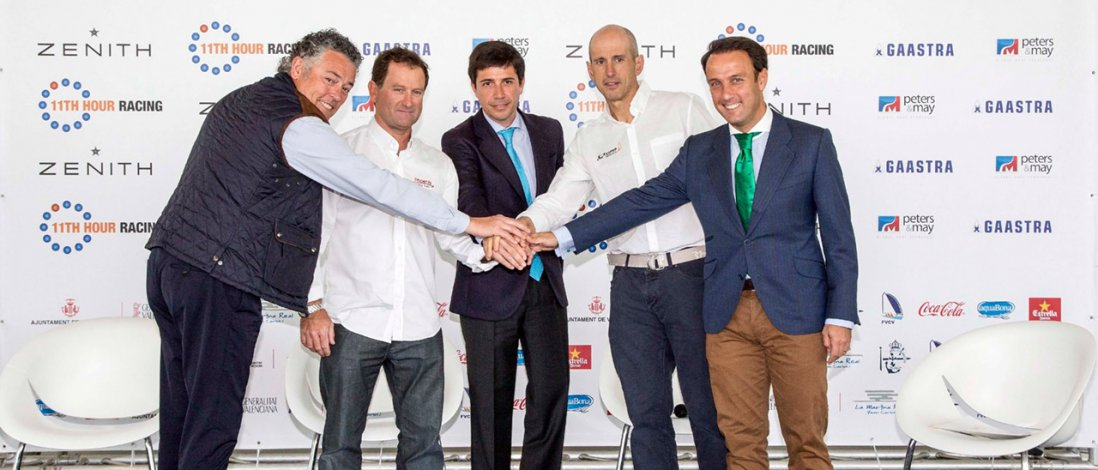 Ford VIGNALE Valencia Sailing Week Revs up the 2015 52 SUPER SERIES